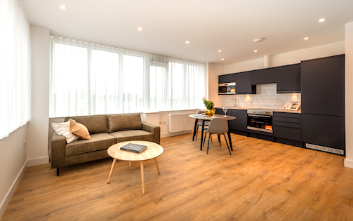 1 Bed Apartment, One Lampton